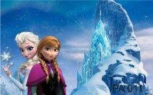 Painel Para Festas. Lona Banner Frozen - R$ 59,90