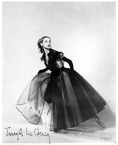Tanaquil Le Clercq in La Valse. Photograph by Walter E. Owen.