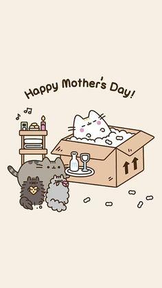 Chat Pusheen, Pusheen Love, Pusheen Stuff, Cute Kawaii Drawings, Kawaii Art, Pusheen Stormy, Images Kawaii, Simons Cat, Nyan Cat