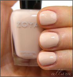 "Zoya Chantal - Described by Zoya as ""French Vanilla Cream"""