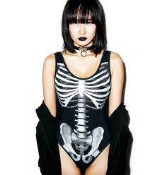 Kill Star Skeletor Bodysuit