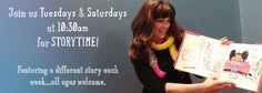 Novel Neighbor Storytime Tuesdays and Saturdays 10:30 am