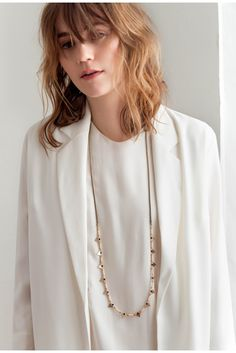 This Jenny Bird necklace is such a statement piece.