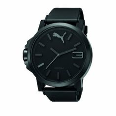 PUMA Men's PU102941001 Ultrasize Black Analogue Watch PUMA. Save 30 Off!. $80.95