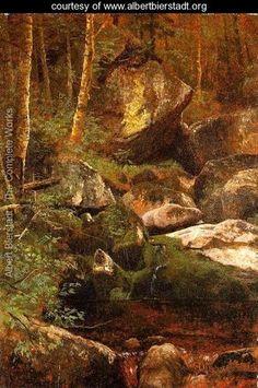 Forest Stream - Albert Bierstadt - www.albertbierstadt.org