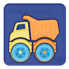 Amazon.com: Green Toys Dump Truck Puzzle (4 Piece): Toys & Games