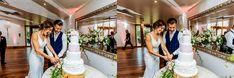 Kassandra and Ivan's Fun Filled Mythe Barn Wedding - Daffodil Waves Photography Blog Barn Wedding Venue, Our Wedding, Waves Photography, Wedding Venue Inspiration, Event Company, Bridesmaid Dresses, Wedding Dresses, Tiered Cakes, Looking Stunning