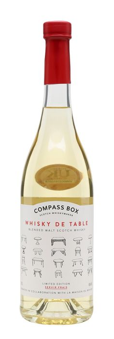 COMPASS BOX WHISKY DE TABLE, Scotland
