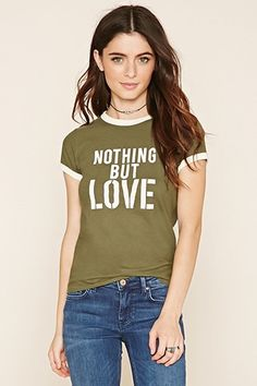 Nothing But Love Graphic Top