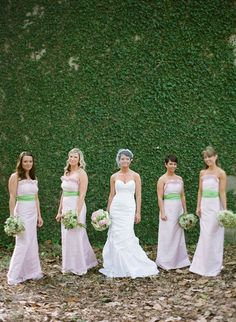 These are the ugliest bridesmaids' dresses I've ever seen....