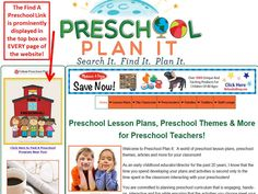 Your preschool program will be seen on BOTH of my websites when you advertise with The Preschool Professor!  The ANNUAL cost is only $9.95 (yes, that's $9.95 a YEAR NOT a month!).  Find out more at http://www.the-preschool-professor.com/add-your-preschool.html