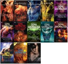 Lords of the Underworld..series...by Gena Showalter