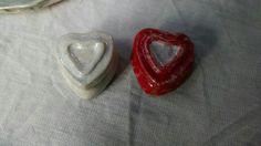 Aromatizadores  coração em cerâmica.