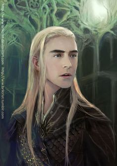 Thranduil - Prince of Greenwood The Great by Brillchrist