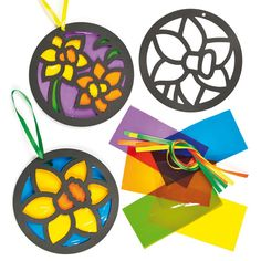 stained-glass-daffodil-decorations-AF203X.jpg (500×500)