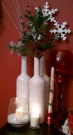 DIY Vintage Chic: Sparkling Wine Bottles