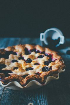 blueberry + blackberry pie.