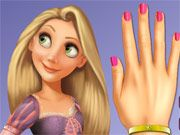 Free Online Girl Games, Even a princess needs help getting her nails done occasionally!  In Princess Rapunzel Nails Makeover, you'll have to give this beautiful maiden a salon quality manicure!  Choose different nail cuts, nail polishes, bracelets and more!, #nails #princess #rapunzel #makeover #cartoon #girl #makeup #salon