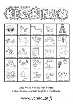 Summer Schedule, Kids Schedule, Teaching Biology, Teaching Tips, Pre School, Back To School, Early Education, Summer Crafts, Bingo