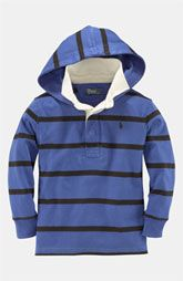 Ralph Lauren Hooded Rugby Shirt (Toddler) Size 2T $49.50