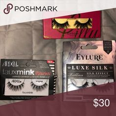 c2a1752d439 Faux Lashes bundle ALL are BNIB Ardell Faux mink wispiness (Ulta) Eyelure  Trillion Lashes (Ulta) Lilly Lashes for Sephora