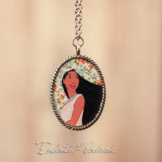 Pocahontas Necklace  Floral by TheEnchantedWardrobe on Etsy