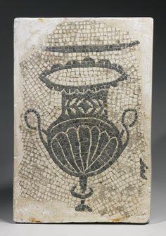 A Roman Mosaic Fragment, circa 1st/2nd Century A.D.