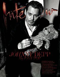 MyMy .. The No Feminist Blog: Johnny Depp en couverture du Interview Magazine - ...