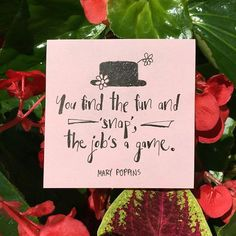 """""""In every job that must be done, there is an element of fun. Mary Poppins Quotes, Party Queen, Jolly Holiday, Event Themes, Canvas Quotes, Disney And More, Chalkboard Art, Disney Quotes, Classroom Themes"""