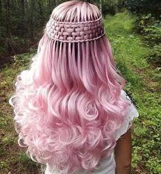 Twisted waterfallbraids - New Hair Styles Hair Inspo, Hair Inspiration, Pinterest Hair, Cool Hair Color, Hair Colors, Crazy Hair, Hair Dos, Pretty Hairstyles, Popular Hairstyles