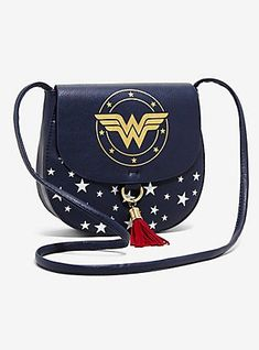 24.90--DC Comics Wonder Woman Saddle Bag af907b59e7e4f