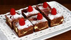 Negresă cu cheesecake și zmeură No Cook Desserts, Tiramisu, Food And Drink, Cooking, Ethnic Recipes, Youtube, Pie, Kochen, Tiramisu Cake
