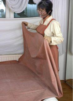 Mackintosh Raincoat, Latex, Rain Cape, Nursing Clothes, Catsuit, Blouse, Apron, Patterns, Yellow