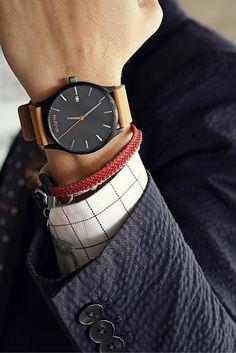 Minimalist timepieces for the modern day gentleman | #JointheMVMT