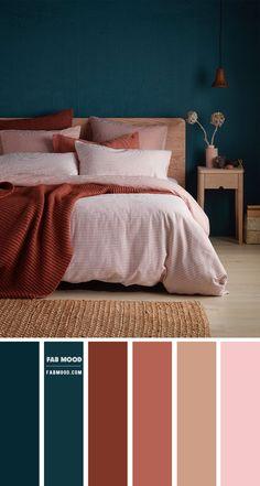 Bedroom Green, Room Ideas Bedroom, Bedroom Themes, Bedroom Decor, Bedrooms, Bedroom Colour Palette, Bedroom Color Schemes, Warm Bedroom Colors, Bedroom Color Combination