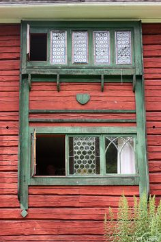 Carl Larsson House. ~ Beautiful window from the Larsson home that can be seen in his paintings