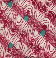 waves : Vintage Fabric