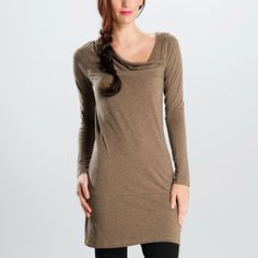 Like the neckline a lot. #loleglow LOLA 2 TUNIC - Featured New Arrivals | Lolё