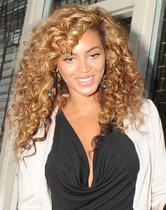Beyonce - Curly - I miss my hair when it looked like this, only a little longer!