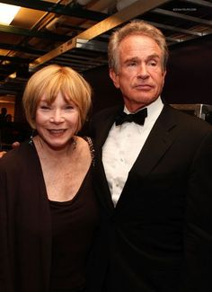 Warren Beatty and his sister, Shirley MacLaine