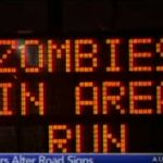 Zombies are taking over roads in USA. http://www.meonuk.com/blog/signs-vs-zombies