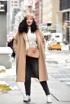 Winter Layering Tricks by Girl With Curves