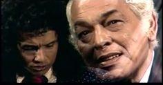 PAULO GRACINDO - FOTO - 0005 - especial de ROBERTO CARLOS - 1976 - produzido e exibido pela Rede Globo - declamando e Roberto cantando