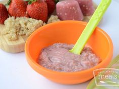 Quinoa is a super nutritious, gluten free grain that makes a great addition to any baby food puree.