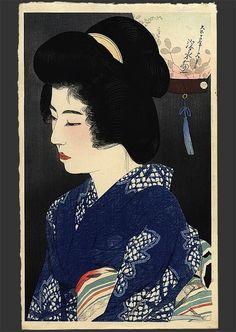 ito shinsui   Singing of insects, Shinsui Ito