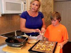 Cooking With Kids - Taco Cupcakes! From SimpleSolutionsDiva.com.