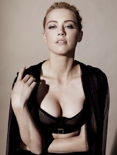 Actress Amber HEARD for Los Angeles Times cover story with Christine Quartier La Tente Lenor bra: $300, Le Bra boutique (Beverly Hills), 310-360-6655