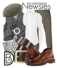 """Newsies"" by leslieakay ❤ liked on Polyvore featuring PT01 Pantaloni Torino, True Religion, Diesel, Richer Poorer, To Boot New York, women's clothing, women, female, woman and misses"