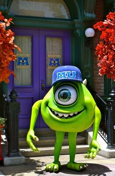I have wanted to be Mike Wazowski for Halloween since the first movie came out, but most of the costume ideas are dumb.  Maybe this year?