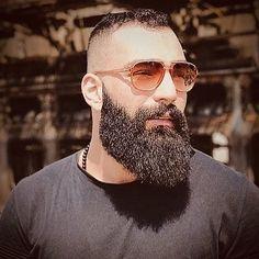 Beard Styles for Men with Short Hair Long Beard Styles, Hair And Beard Styles, Tapered Beard, Bart Styles, Beard Cuts, Beard Game, Big Beard, Beard Colour, Beard Model
